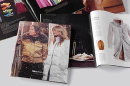 運動品牌耐克畫冊封面和內頁