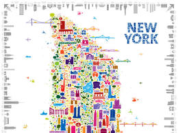 NEW YORK纽约创意海报设计