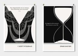 埃文·罗宾逊文学海报设计欣赏