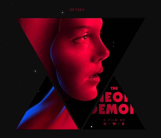 葡萄牙Pedro电影《霓虹恶魔》海报设计