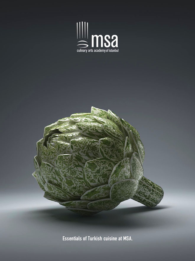 msa精彩创意海报欣赏