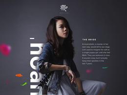 越南设计师Minh Pham个人婚礼海报设计