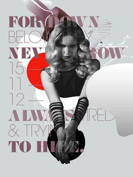 安东尼·尼尔·达特时尚海报作品欣赏