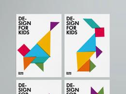 DESIGN FOR KIDS系列主題海報設計欣賞