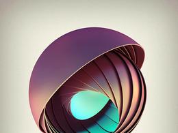 美丽的螺旋系列艺术海报欣赏
