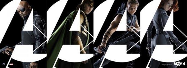 MARVEL英雄系列《复仇者联盟》电影海报欣赏