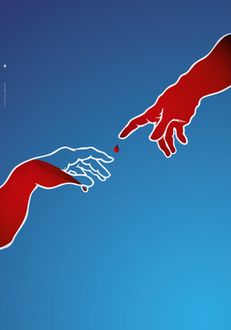 希臘無償獻血系列公益海報欣賞