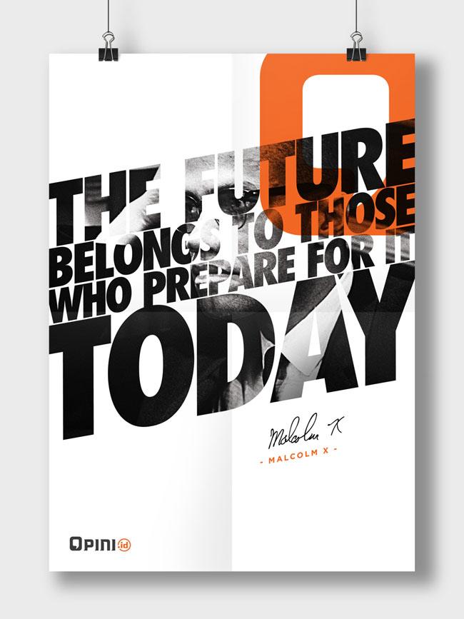 印尼Opini在线平台系列创意海报