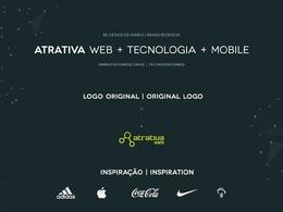 ATRATIVA咨询公司品牌VI设计欣赏