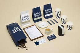 Pablo & Rusty's 咖啡烘焙店视觉形象设计