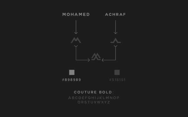 突尼斯设计师Mohamed Achraf个人形象设计
