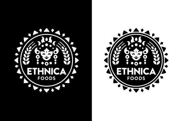 Ethnica食品品牌VI設計
