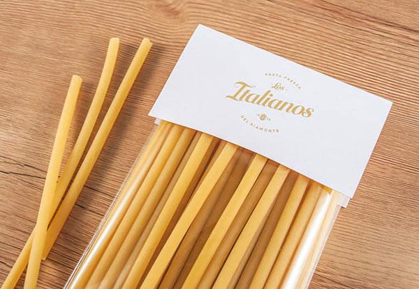 巴塞羅那Los Italianos美食品牌形象設計