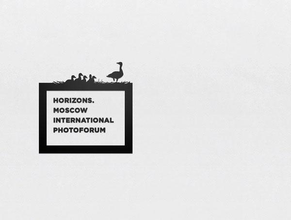 俄罗斯Horizons摄影品牌形象设计