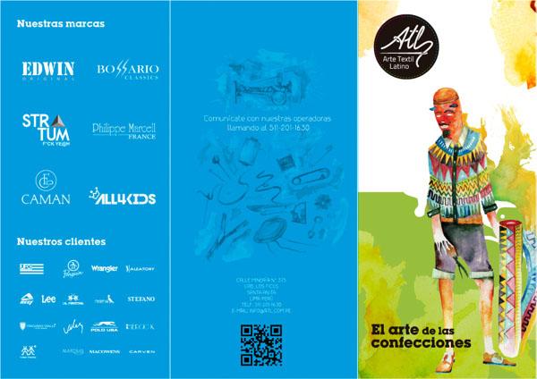 秘鲁ARTE纺织品牌形象设计欣赏