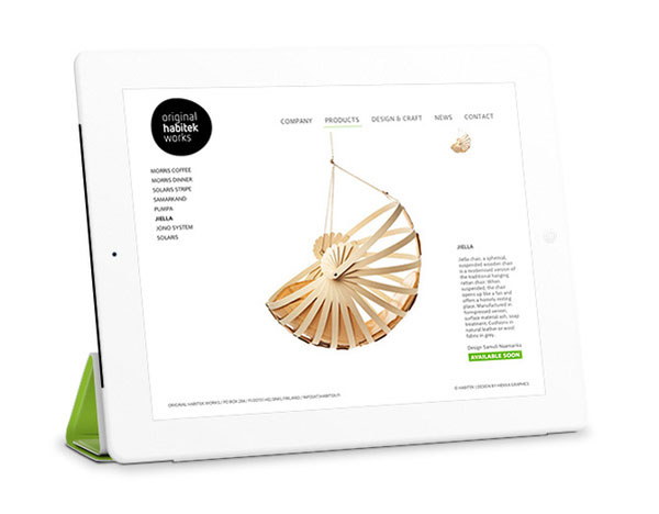 芬兰设计师Ossi Gustafsson现代品牌作品选刊