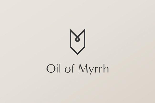 Oil of Myrrh没药油品牌VI设计欣赏