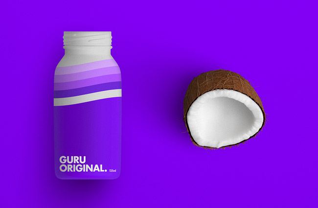 GURU益生菌饮料品牌形象设计