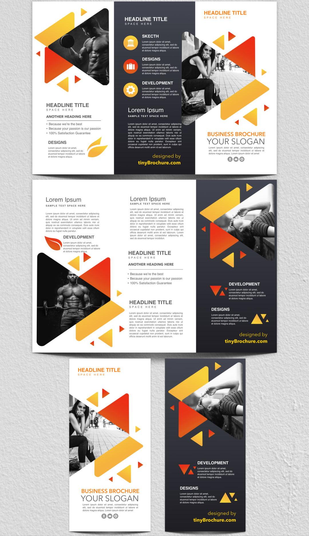 三折页设计欣赏