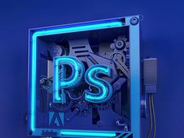 Adobe Photoshop 3D字体设计