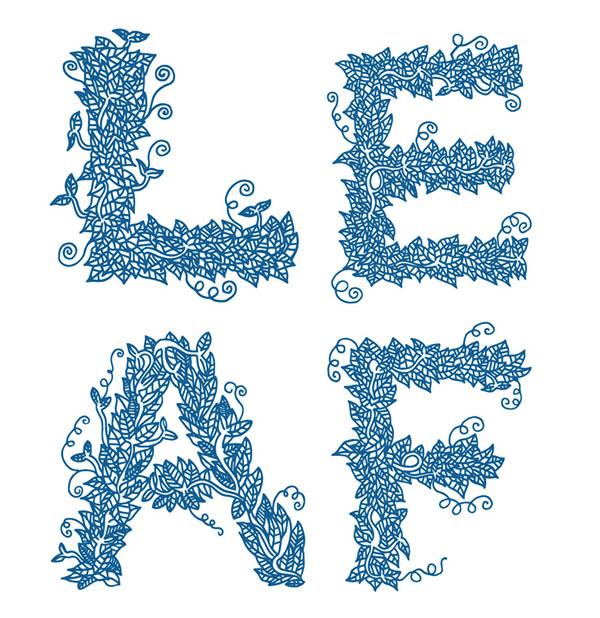 12例國外優秀字體作品分享