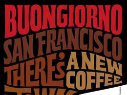 意大利Lavazza咖啡字体创意广告欣赏