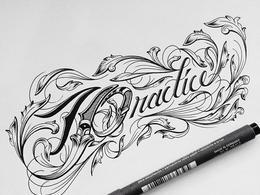 纽约Raul Alejandro手绘字体设计作品