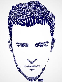 Sean Williams精彩字体肖像设计
