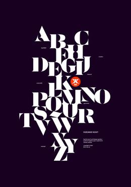 20例字体海报作品欣赏(一)