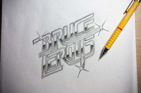 巴西Jackson Alves字体设计作品