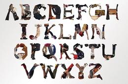 韩国设计师Yvette Yang英文字母设计