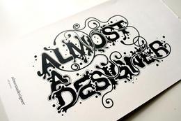 两款线条流畅的英文字体设计欣赏