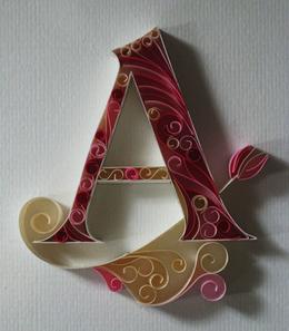 極具藝術性的英文字母字體設計