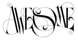 俄羅斯Boris Pelcer時尚字體設計作品
