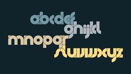 匈牙利Adam Pócs字體類設計作品欣賞