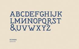 阿根廷POGO時尚字體設計分享(二)