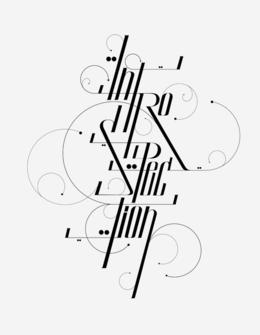 維也納David Mascha時尚字體設計作品
