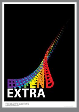 英國設計師西蒙精彩個性字體設計