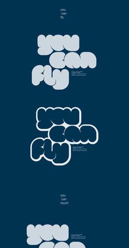 保加利亞設計師字體設計新作分享