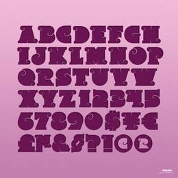 斯韋托斯拉夫個性英文字體設計