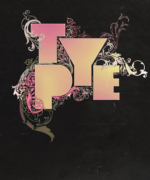 懷舊:經典而絢麗的(立體)字體設計