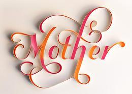 Sabeena Karnik漂亮的纸艺手工字体设计欣赏
