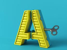 西班牙Marc Urtasun漂亮的立體26個英文字母設計