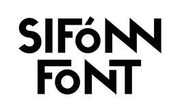 SIFONN可組合創意字體設計欣賞
