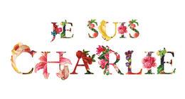 复古风格的唯美花卉字体设计