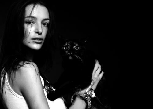 LOUIS&AIDA時尚黑白攝影