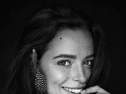 波兰Anna Dyszkiewicz美丽的黑白肖像摄影
