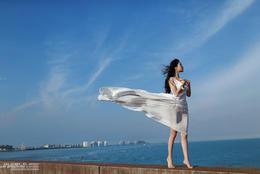 《海风》主题人像摄影欣赏