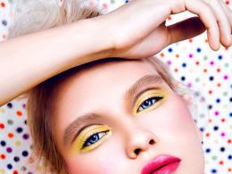 时尚靓丽的彩妆肖像摄影欣赏
