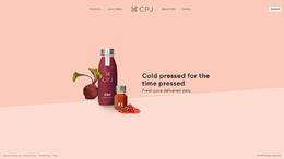 英國CPJ果汁飲料網站